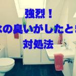 トイレから下水の臭い?!新築住宅でも起きることがあります